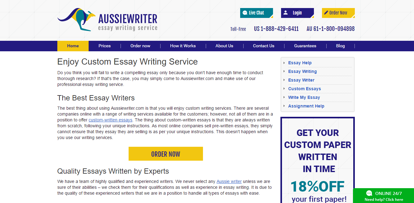 aussiewriter review